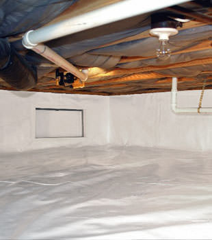 crawl space repair system in Carson City