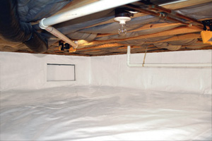 Crawl Space Repair After in Sun Valley