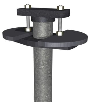 Graphic render of a foundation slab pier system