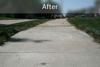 Fixing sunken concrete with PolyLevel® in Reno
