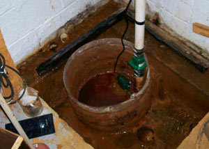 Extreme clogging and rust in a Yerington sump pump system